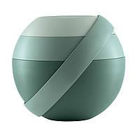 Ланч бокс для салата зеленый, с аккумулятором холода и столовыми приборами 100100163 GUZZINI