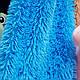 Плед покрывало травка с длинным ворсом 210х230 см Евро, фото 2
