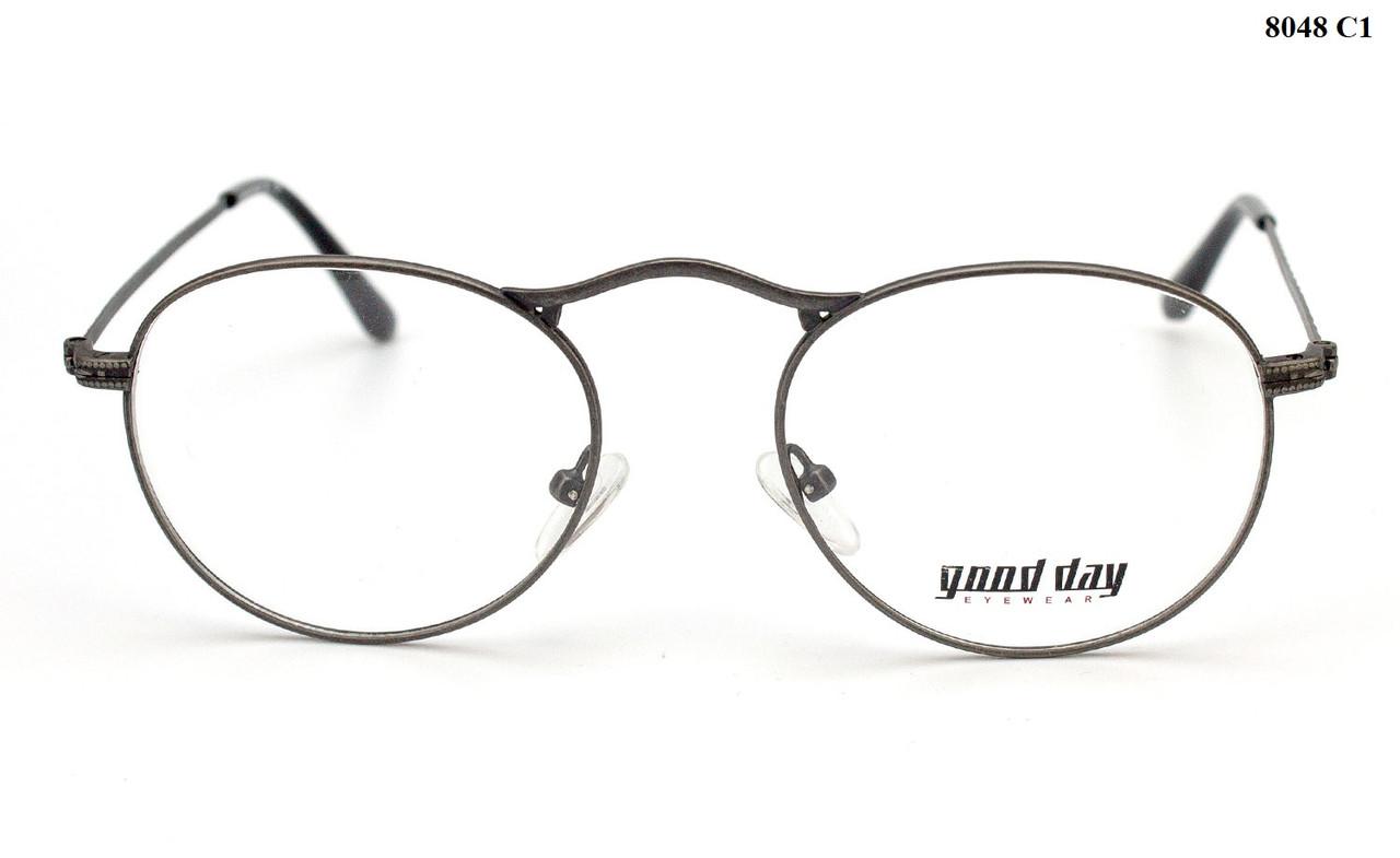 Круглые очки для зрения для мужчин (от -0.5 до -6.0)