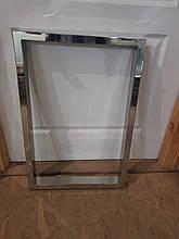 Опори для столів металеві хромовані з нержавіючої сталі, подстолье