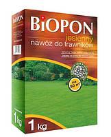 Удобрение гранулированное BIOPON осеннее для газонов 1 кг