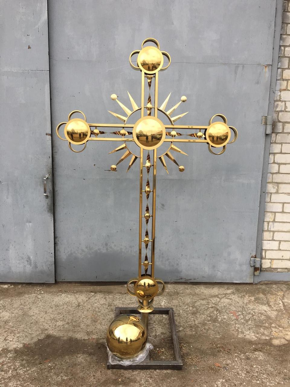 Хрест на купол Церкви
