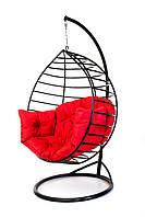 Качеля-кокон Kospa с подставкой 150 кг красный