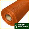 Сетка штукатурная щелочест. 6*5мм (50м.кв 160гр/м2) Fiberglass оранжевая