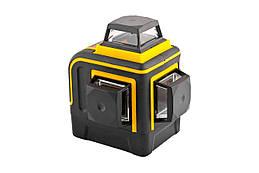 Уровень лазерный Mastertool - 360° x 3 головки 3D