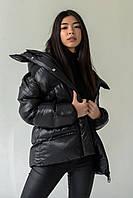 Женская зимняя куртка черная insydde