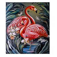 "Картина раскраска по номерам ""Фламинго"", 40х50см. №30331"