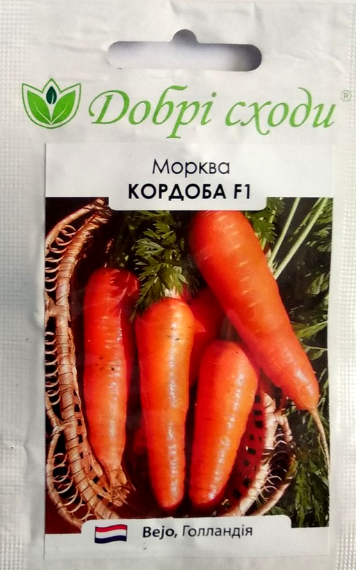 ТМ ДОБРІ СХОДИ Морковь Кордоба 400шт