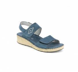 Босоніжки жіночі Grunland (SA1579) Синій