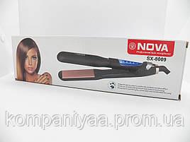 Утюжок для выравнивания волос NOVA SX-8009