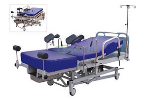 Медичне ліжко акушерська з електроприводом DH-C101A02 (гінекологічний стіл, до та під час пологів)