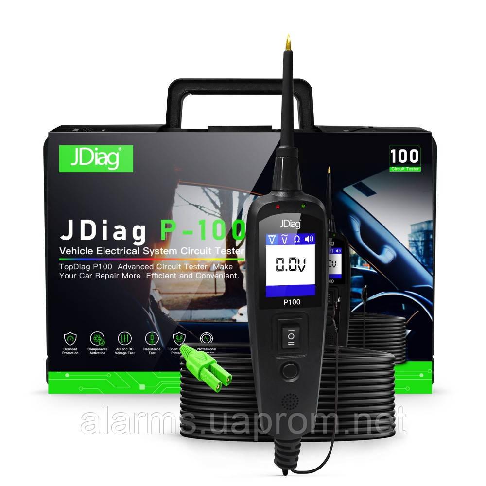 Диагностический тестер JDiag P100 12\24 V (аналог Power probe). Поиск обрывов цепи