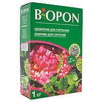 Удобрение гранулированное BIOPON для гортензий 1 кг
