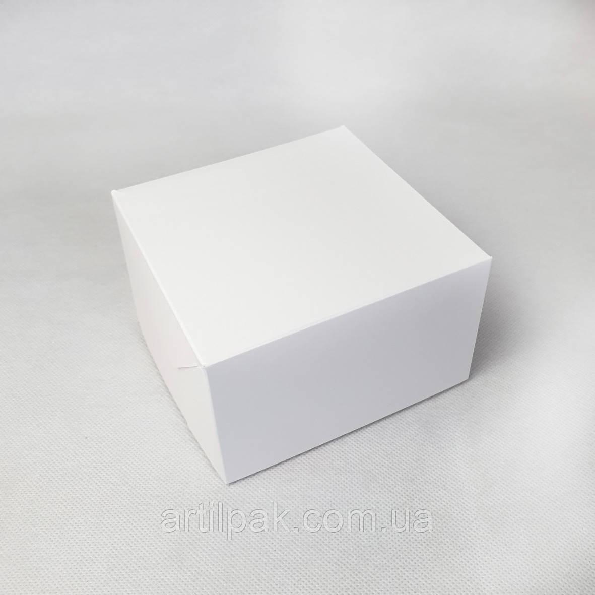КОНТЕЙНЕР-КОРОБКА 130*130*80 біла