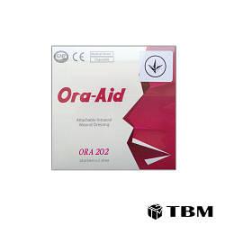 Интраоральный заживляющий пластырь Ora Aid 25x15мм