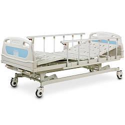 Ліжко функціональна медична 4-х секційна з регулюванням висоти OSD-A328P (для лежачих хворих)