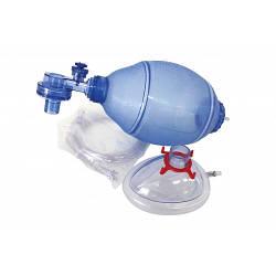 Мішок дихальний реанімаційний типу Амбу (ПВХ), для дорослих