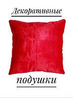 Подушка оксамитова декоративна, фото 1