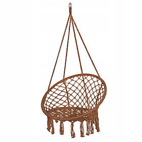 Подвесное кресло-качели (плетеное) Springos SPR0023 Braun