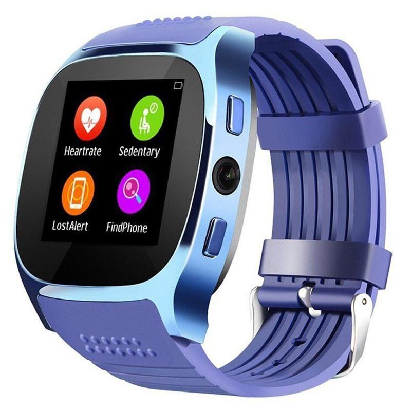 Часы Smart Watch T8 blue Гарантия 1 месяц