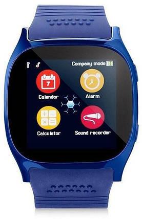 Часы Smart Watch T8 blue Гарантия 1 месяц, фото 2