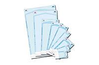 Пакети паперово-целюлозні для стерилізації 2 індикатора (135х255х30 мм) Dentix