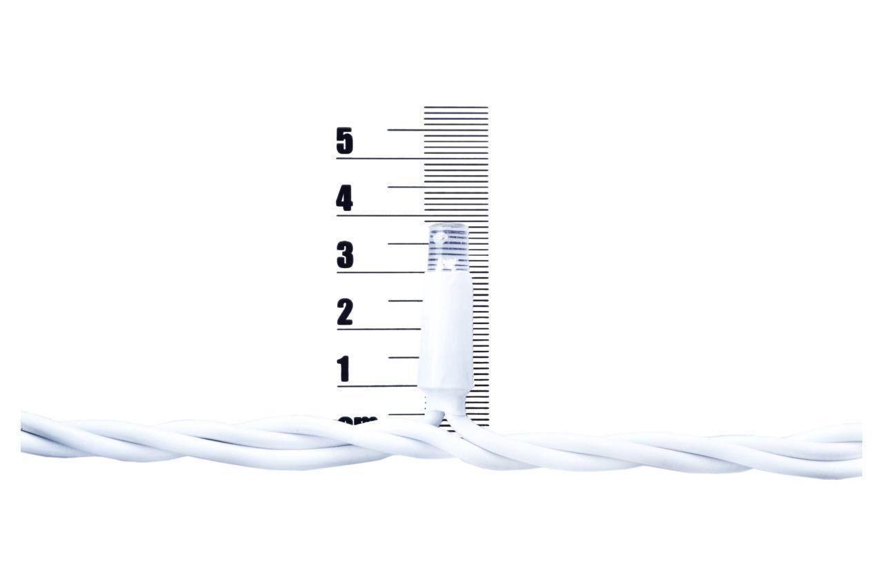 Гірлянда-дощик вулична світлодіодна PRC WP - 200 LED White біла