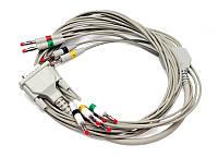 Дефизащитный ЭКГ кабель на 5 отведений для СА-360В (R-5650-1)