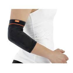 Пов'язку на ліктьовий суглоб з силіконовою подушечкою