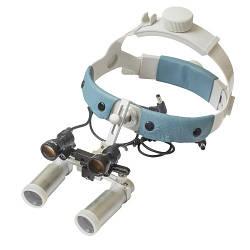 Бинокулярный увеличитель ECP-5,0x-R ErgonoptiX Комфорт Призматик с осветителем D-Light HD