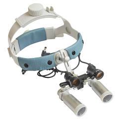 Бинокулярный увеличитель ECP-6,0x-R ErgonoptiX Комфорт Призматик с осветителем D-Light Duo HD