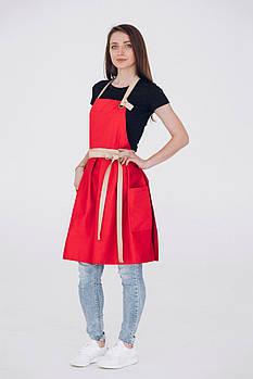 Фартук платье Vanilla Червоний