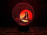 """3D светильник """"Мост влюбленных"""" 3DTOYSLAMP, фото 2"""