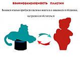 """3D лампа """"Серебряный конь"""" 3DTOYSLAMP, фото 5"""