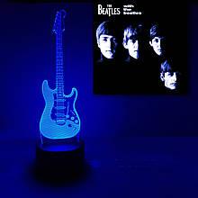 """Дитячий нічник - світильник """"Гітара"""" 3DTOYSLAMP"""