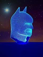 Ночник 3D светильник «Бэтмен» 3D Creative