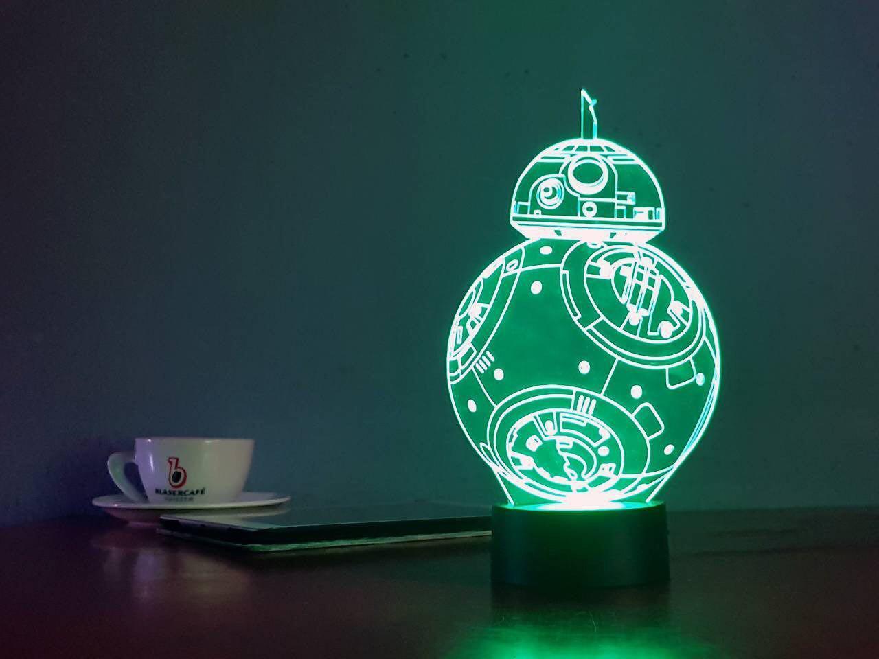 3D светильник-ночник «ВВ 8» 3D Creative