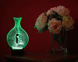 """3d светильник """"Птица в клетке"""" 3DTOYSLAMP, фото 3"""