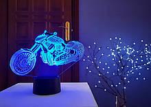 "3D светильник ""Мотоцикл 9"" 3D TOYSLAMP"