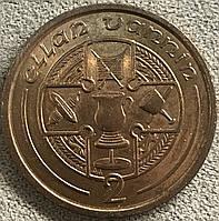 Монета острова Мен 2 пенса 1992 г., фото 1