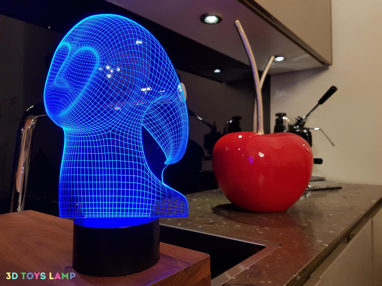 "3D лампа ""Спирит"" 3DTOYSLAMP"