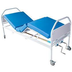 Кровать функциональная медицинская ЛФ - 4 (для пациентов, с механической регулировкой)