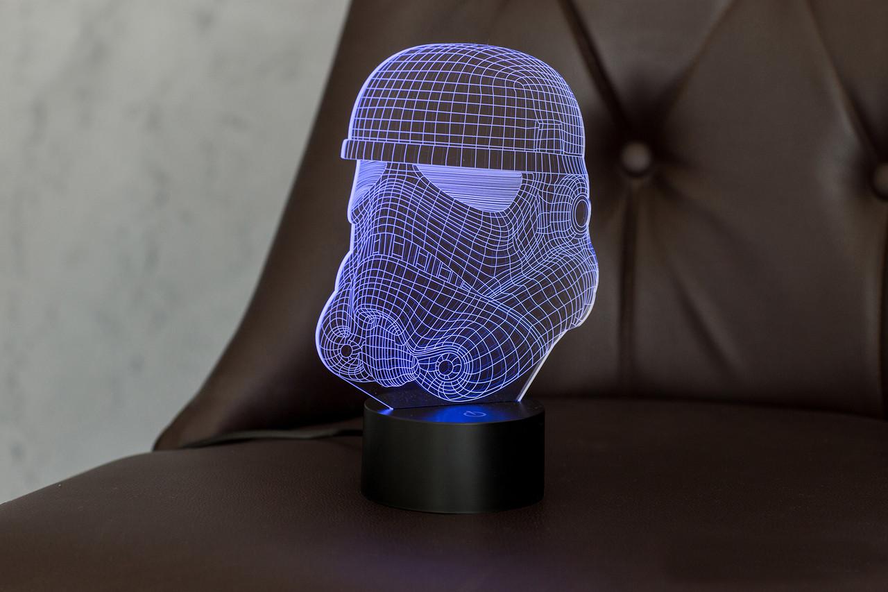 "3d ночник ""Штурмовик"" 3DTOYSLAMP"