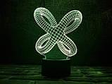 """3D светильник """"Цикличность"""" 3DTOYSLAMP, фото 2"""