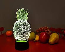 """3D ночник-светильник """"Ананас"""" 3DTOYSLAMP"""