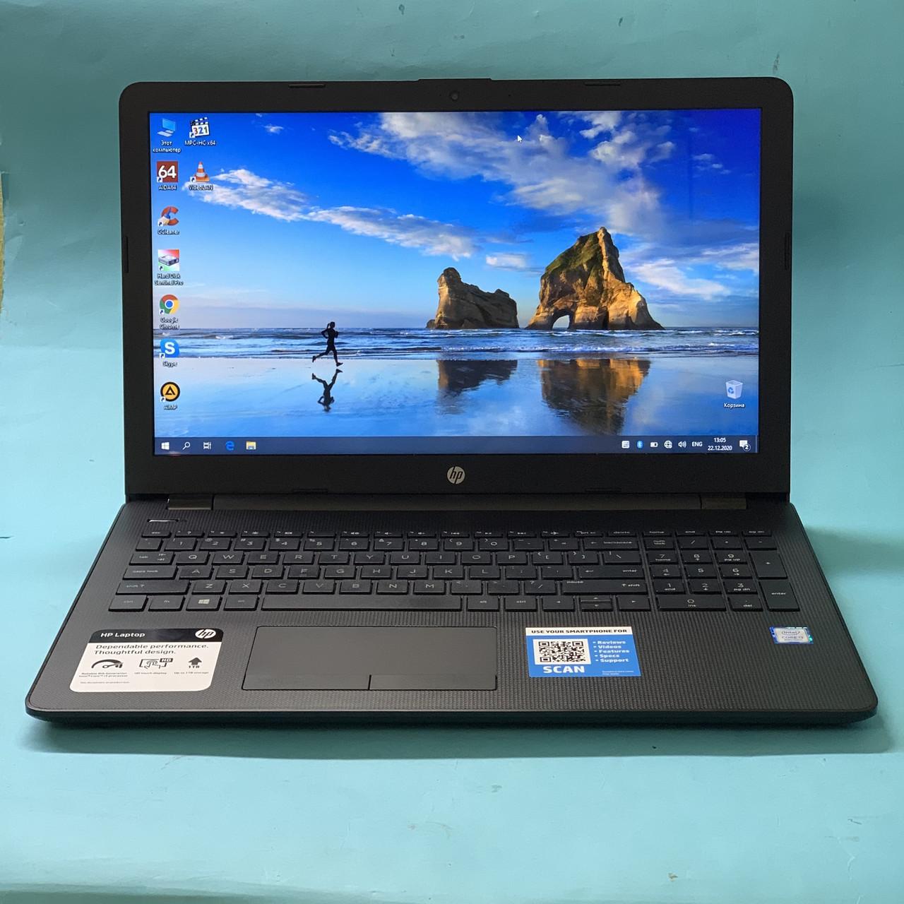 Ноутбук HP 15-bs113dx - 15`6 HD Touch\ i3-8130U\ DDR4 8GB\ SSD 240GB