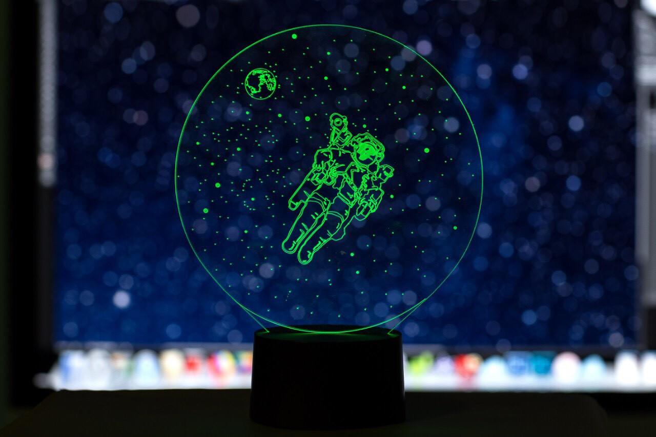 """3D светильник """"Космонавт"""" 3DTOYSLAMP"""