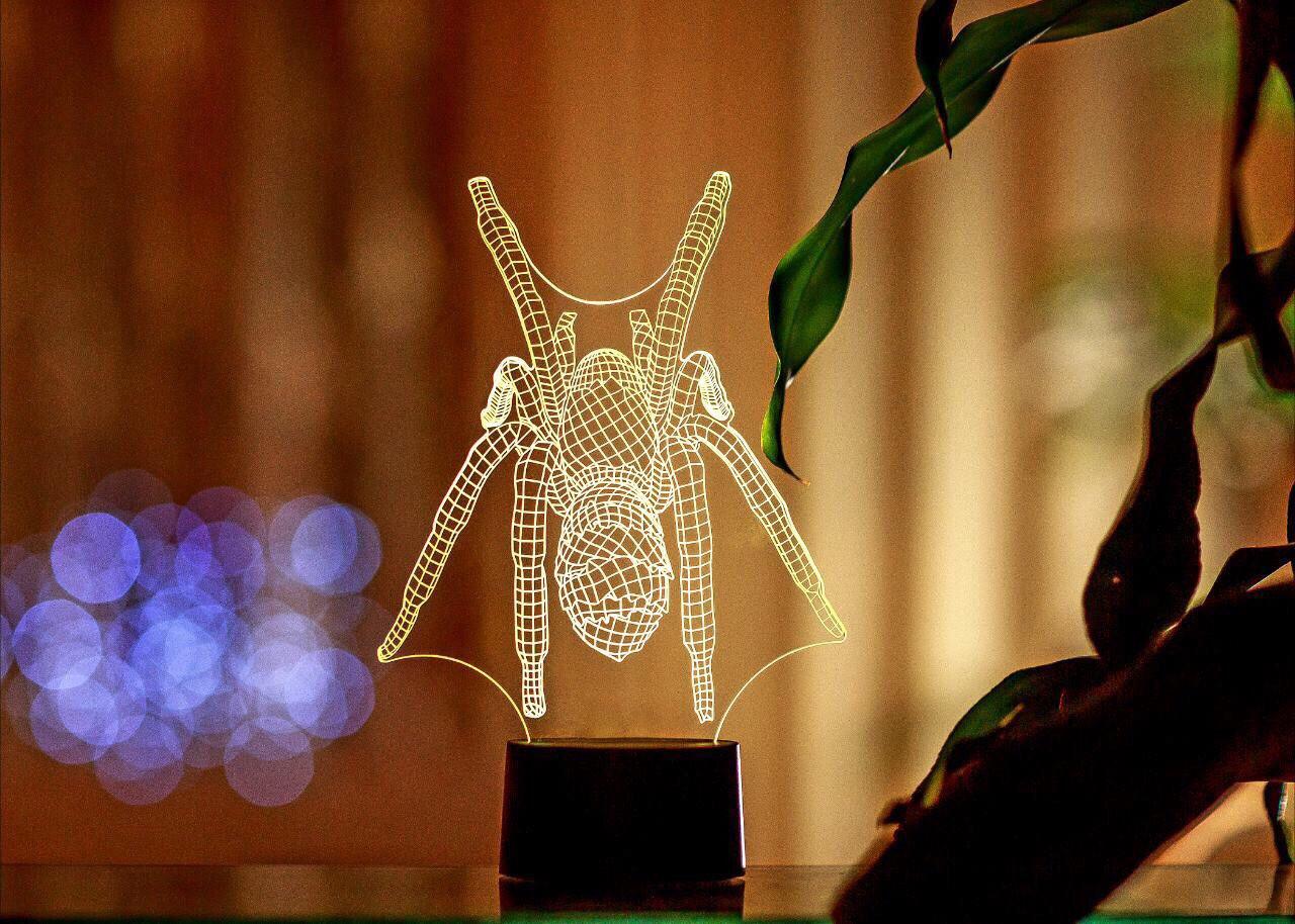 "3D светильник ""Паук"" 3DTOYSLAMP"
