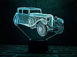 """3D светильник ночник """"Автомобиль 11"""" 3DTOYSLAMP, фото 3"""