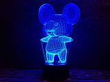 """Детский ночник - светильник """"Коала"""" 3DTOYSLAMP, фото 3"""